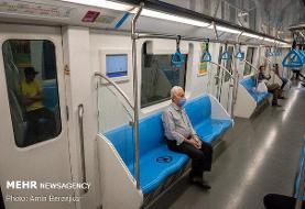 فعالیت آمران سلامت در متروی تهران