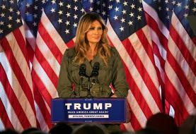 Melania Trump finally hits the stump for her husband