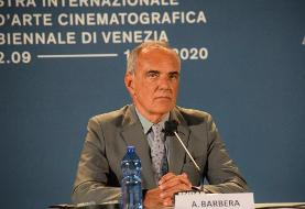 تمدید مدیریت آلبرتو باربرا در جشنواره فیلم ونیز