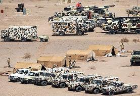 تقویت دیوار دفاعی ارتش در مرزهای شمال غربی | تصاویر آن را ببینید