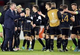 رکورد تحسین برانگیز تیم ایرلندی در لیگ اروپا