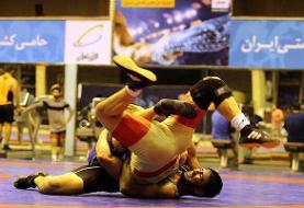 حسین خانی نفر اول وزن ۷۴ کیلوگرم ملی کشتی آزاد شد
