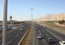 ورودی پایتخت با ترافیک نیمهسنگین رو به رو است