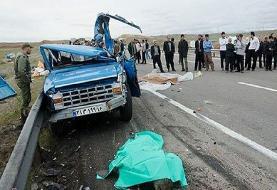 حادثه رانندگی در جاده اردبیل - رضی ۲ کشته و ۶ مجروح بر جای گذاشت