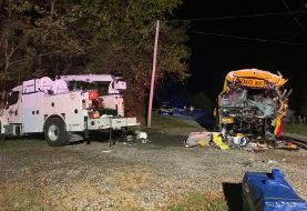 At least 2 killed, 7 injured in Tennessee school bus crash