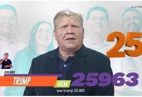 چاقم اما موهایم واقعی است | ترامپ برزیل به بایدن رای میدهد