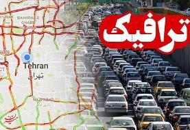آخرین وضعیت ترافیکی جادههای کشور در ۱۰ آبان ماه