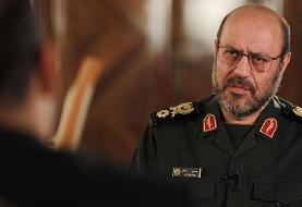 سردار دهقان: اقدام تروریستی تنها کشتن شهروندان نیست، بلکه توهین به پیامبر اسلام هم هست