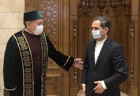 دیدار سفیر ایران با مفتی مسلمانان بلاروس