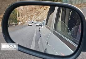 ممنوعیت تردد کامیون در هراز تا بامداد فردا ۱۰ آبان / ترافیک سنگین در ...