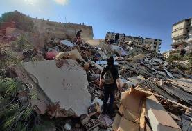 ویدئو | زلزله ۶.۶ ریشتری در ترکیه | تعدادی از ساختمانها در ازمیر فرو ریختند
