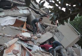 تصاویر | ویرانیهای زلزله هولناک در ازمیر ترکیه