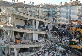 ویدیویی از شهروندانی که هنگام وقوع زلزله آماده مرگ شدند و «اشهد» خواندند