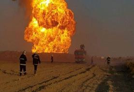 ۵۳ کشته و زخمی در حادثه انفجار خط لوله گاز در جنوب عراق