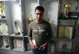 قهرمانی ورزشکار قمی در بازیهای الکترونیکی غرب آسیا