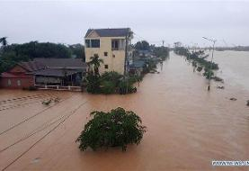 ۲۷ کشته و ۵۰ ناپدید در پی وقوع طوفان در ویتنام