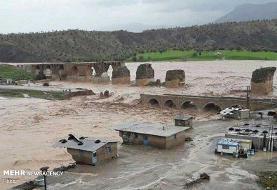 زخم سیل۹۸بر تن بناهای هزارساله/مرمت آثارچشم انتظار مصوبه دولت است