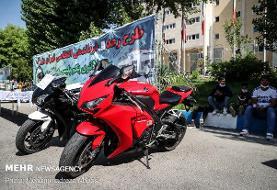 توقیف ۴ موتورسیکلت سنگین به دلیل حرکات نمایشی خطرناک در تهران
