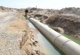 فاز نخست خط انتقال آب