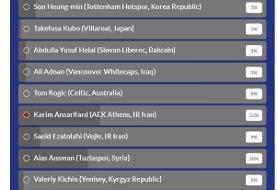 انصاریفرد بهترین لژیونر هفته آسیا