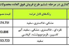 آغاز فروش فوری۳ محصول ایران خودرو با قیمت قطعی (+جدول)