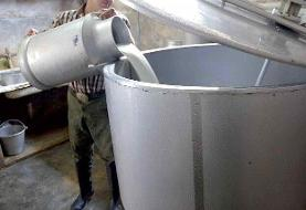 قیمت شیر خام درب دامداری ۴۵۰۰تومان تصویب شد