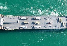 اورشلیم پست: ناو جدید سپاه تهدیدی برای نیروی دریایی آمریکاست