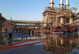 مهار آتشسوزی در پتروشیمی خارک/ یک نفر جان باخت