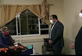 عیادت رییس کل دادگستری هرمزگان از زن حادثه تخریب در بندرعباس