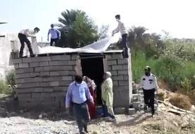 ورود بازرسی کل استان هرمزگان به حادثه تخریب منزل زن سرپرست خانوار