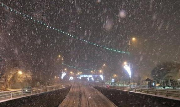 بارش برف شبانه در ارتفاعات تهران