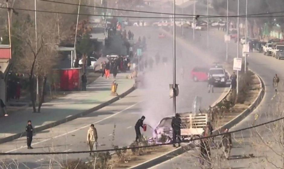 اصابت چهارده موشک به کابل/ سفارت ایران: اصابت موشک به ساختمان سفارت تلفاتی نداشته است