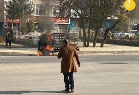 (تصاویر) حمله راکتی به کابل و سفارت ایران