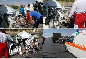 ۲۴مصدوم و ۴کشته درحوادث ترافیکی امروز/۲ مامور اورژانس مصدوم شدند