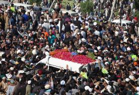 پاکستان: صدها هزار نفر در مراسم خاکسپاری رهبر  اسلامگرای افراطی شرکت کردند + [عکس]