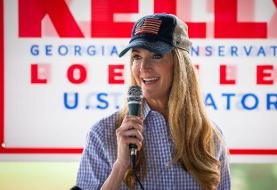 Republican Sen. Kelly Loeffler, a candidate in the Georgia runoff, tested positive for COVID-19 ...