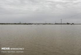 اثر جهانی «بند میزان» شوشتر به زیر آب رفت