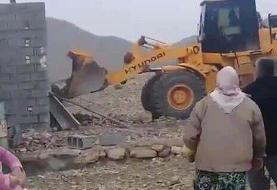 اعلام جزئیات فیلم تخریب یک ساختمان در میانجنگل فسا