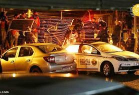 (تصاویر) حمله معترضان خشمگین به فروشگاه زنجیرهای در برزیل