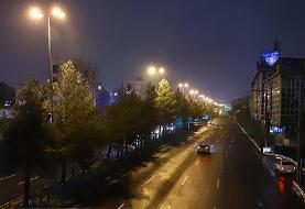 (تصاویر) منع تردد شبانه در تهران