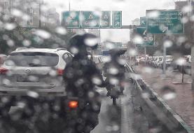 ترافیک نیمه سنگین در ورودی تهران/ تداوم محدودیت تردد پلاکهای غیربومی در شهرهای قرمز و نارنجی