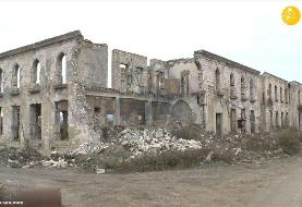 (تصاویر) آغدام در قره باغ به شهر ارواح تبدیل شده است