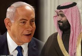 دیدار نتانیاهو و بن سلمان در عربستان