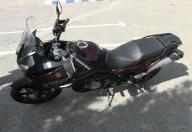 کشف موتورسیکلت قاچاق ۱۰۰ میلیونی در چرام