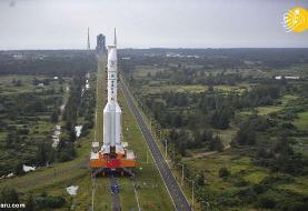 (تصاویر) پرتاب فضاپیمای چینی به ماه
