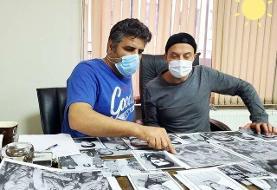 اولین تصاویر از گریم بازیگران سریال شهیدان باکری