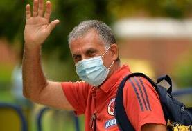 خداحافظی پیامکی کارلوس کیروش از کلمبیا!
