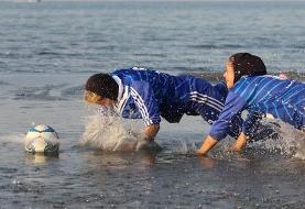 (عکس) تمرینات عجیب تیم زنان ملوان