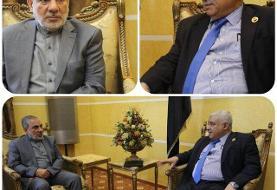 دیدار سفیر ایران در یمن با وزیر کشاورزی این کشور