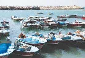 توقیف هفت قایق متخلف صیادی در چابهار ودشتیاری
